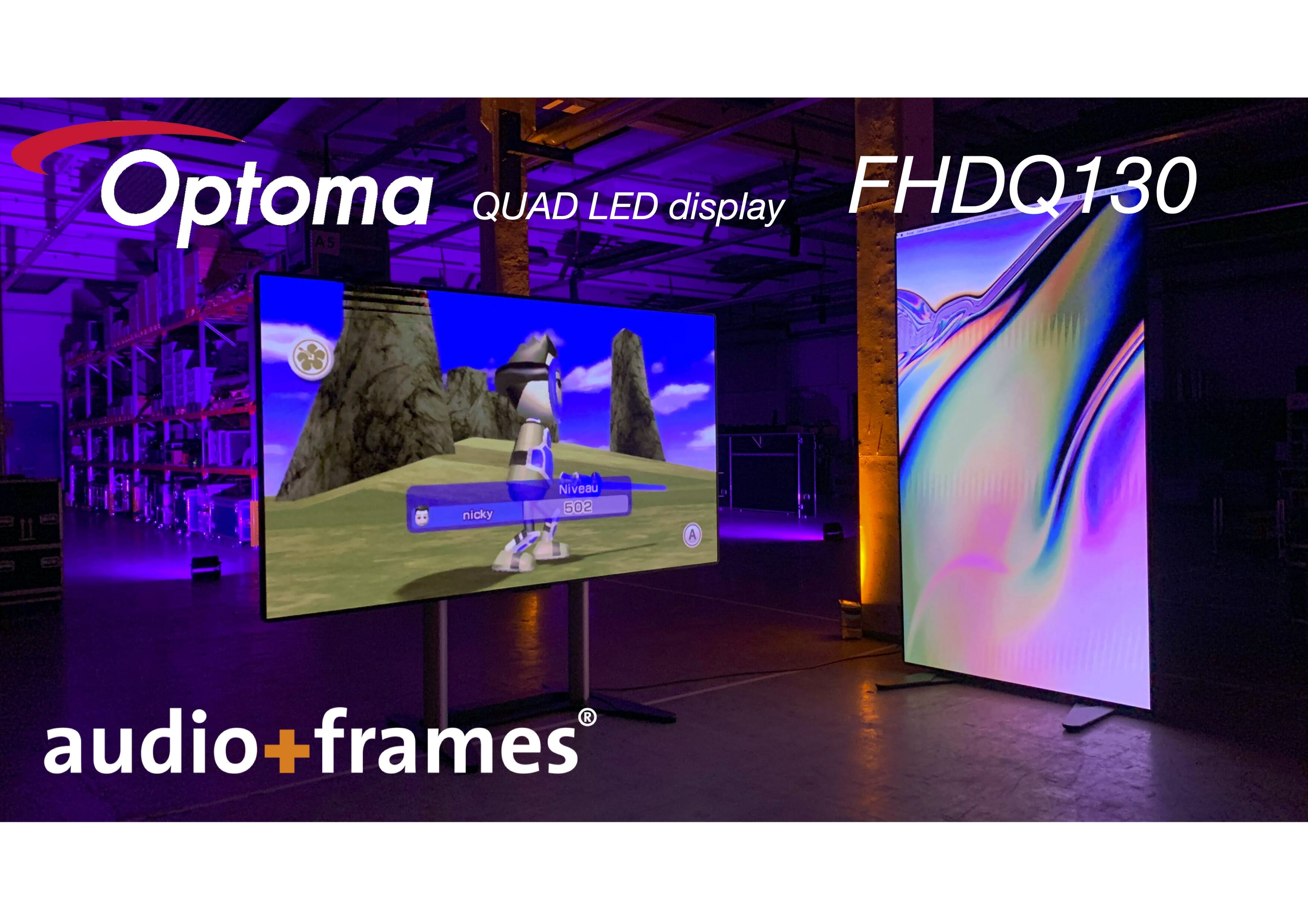 LED – Technik mieten in Berlin bei audio+frames